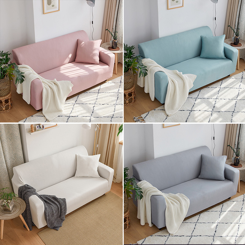Universal Stretch All inclusive Non slip Elastic Sofa Cover Cushion Sectional Sofa Cover Towel Couch Slipcover
