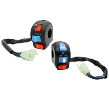 Handlebar Control Switches Horn Button Turn Signal Headlight Start Switch For Chinese Scooter GY6 4 STROKE TAOTAO JCL ZNEN BMS