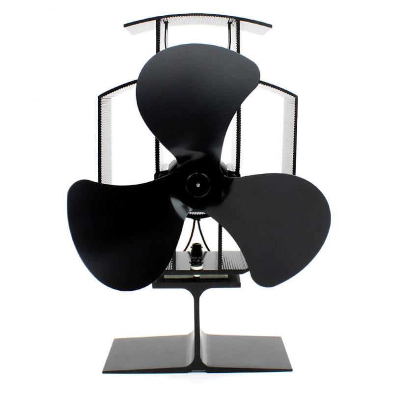 T2 Eco Fan Heat Power Fireplace Fan Silent Fireplace Blower Fan Heat For Efficient Heat Distribution