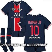 New kids kit 20 21 Jersey shirt MBAPPE NEYMAR Top Quality CAVANI vertopi KIMPEMBE DANI ALVES DI MARIA ICARDI KEAN 2021 shirt