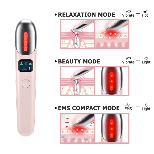 EYE MASSAGER ANTI WRINKLE DEVICE