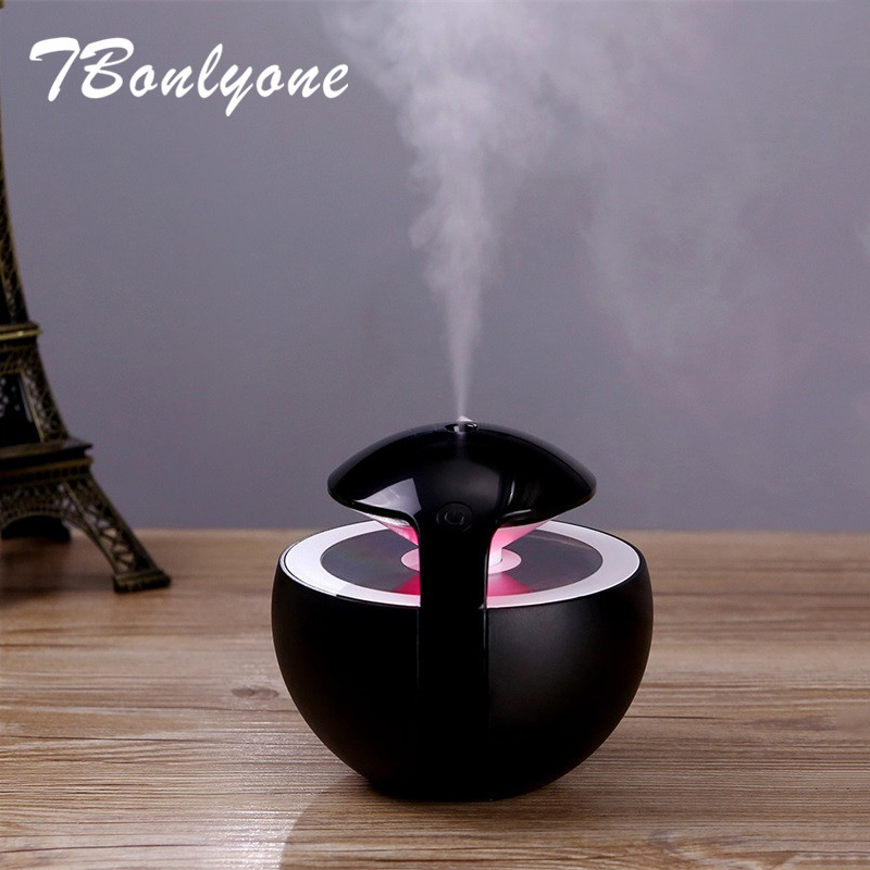 TBonlyone 450ML Large Capacity Humidifier For Whole Night Water Soluble Oil Aroma Diffuser Electric Ultrasonic Air Humidifier