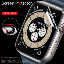 Screen Protector Clear Full Protective Film for IWatch Series 4 5 6 40MM 44MM for Apple Watch 6 SE 5 3 2 1 38MM 42MM Case Cover cheap Geekthink CN(Origin) Ultra-thin Hydrogel Film