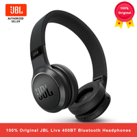 JBL Live 400BT cuffie Bluetooth Wireless AI Smart auricolari Voice Assistant cuffie sportive con microfono connessione multipunto