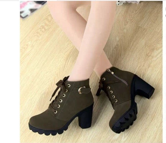 Woman Boots Women Shoes Ladies Thick Fur Ankle Boots Women High Heel Platform Rubber Shoes Snow Boots jmi8 24
