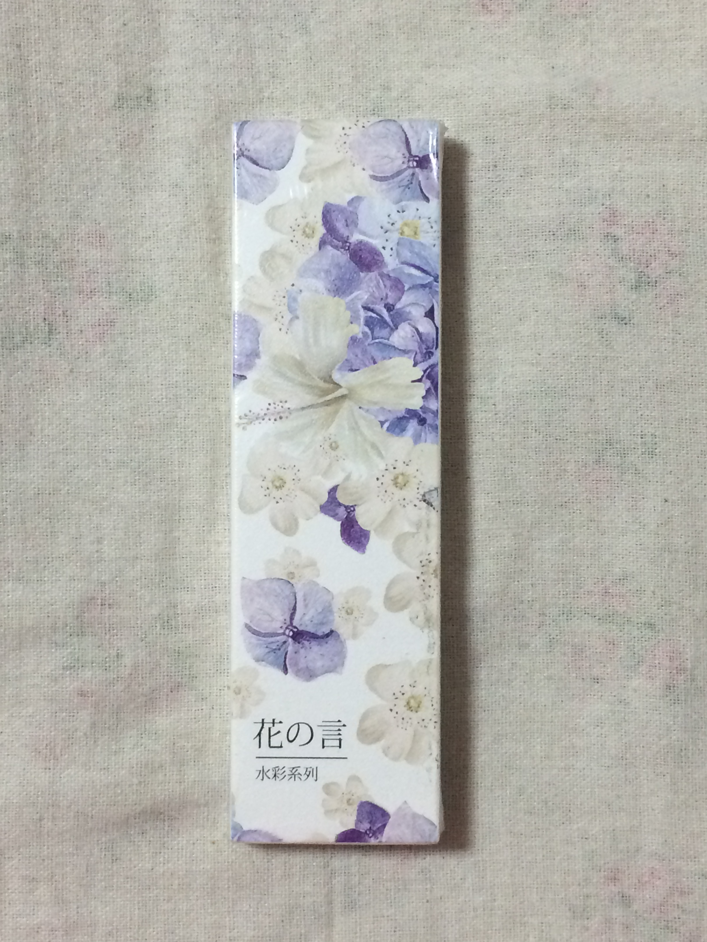 Flower Word Diy Paper Bookmark(1pack=30pieces)