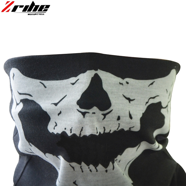 new style motorcycle skull ghost face windproof mask outdoor sports warm ski caps bicycle bike balaclavas scarf skull face mask 1