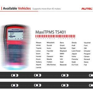 Image 5 - Autel MaxiTPMS TS401 narzędzie TPMS OBD2 skaner aktywować skanowania czujnik TPMS kopii OE identyfikator, aby Mx czujnik programowania Autel TPMS czujnik Mx