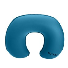 OUTAD Ultralight TPU Ergonomic Design Neck Concave Inflatable Air Pillow U-Shaped for Outdoor Camping Travel massage inflatable neck pillow inflatable u shaped travel pillow car head neck rest air cushion for travel neck pillow