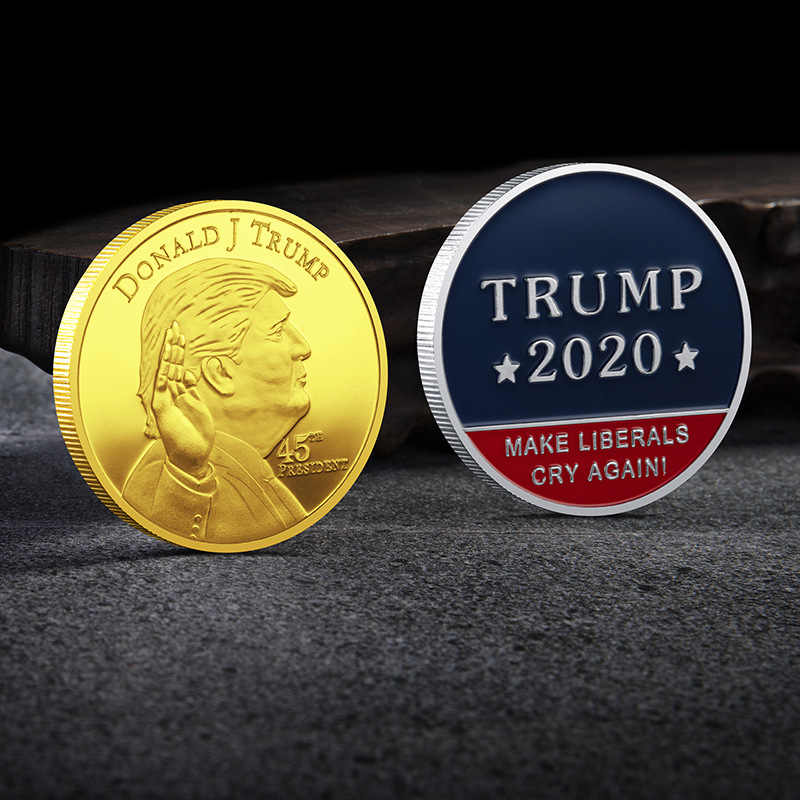 Ons 45Th President Donald Trump 2020 Make Liberalen Cry Weer Uitdaging Coin