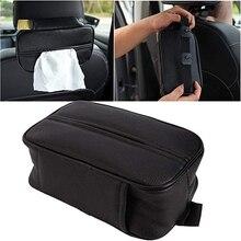 Universele Tissue Dozen Met Wegwerp Servetten Tissue Dozen Auto Accessoires Tissue Bag Organizer Auto Decoratie Auto Opslag