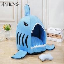 Cat bed Shark nest best cat litter pet mat can unpick and wash dog  cute shark