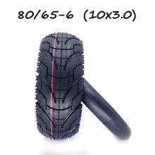 10 Polegada 10x3.0 pneu 80/65-6 pneu + pneumático interno para scooter elétrico bicicleta dobrável engrossar peças de pneus resistentes ao desgaste