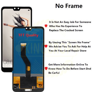 "Image 5 - Tft 6.1 ""Lcd Voor Huawei P20 Pro Lcd Met Frame Scherm Digitizer Vergadering Touch P20 Pro CLT AL01 l29 Lcd P20 Plus Display"