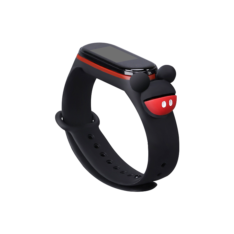 Bracelet For Xiaomi Mi Band 4 /3 Strap Miband 4 Accessories Waterproof Silicone Wristband For Xiaomi Mi Band 3 Replacement Strap
