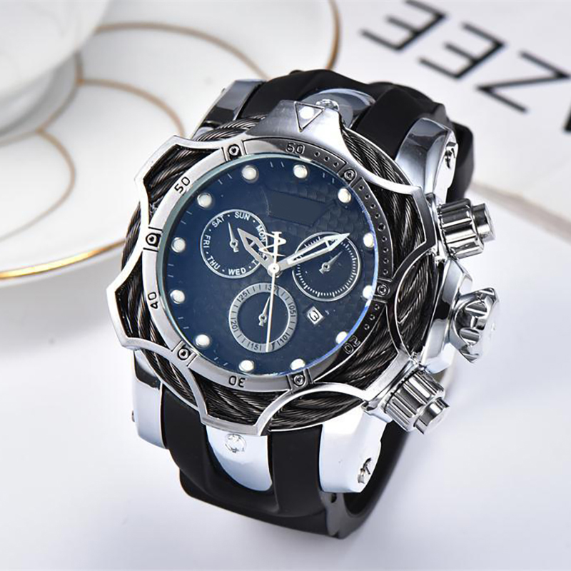 Luxury Top Brand Mens Designer Stainless Watch Sports AAA Self-wind Wristwatches