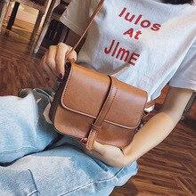 Vintage Purse Bag Leather Cross Body Shoulder Messenger Bag