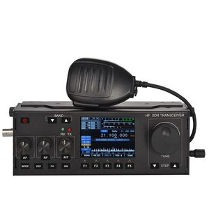 10-15W RS-958B SSB HF SDR HAM 트랜시버 전송 TX 0.5-30MHz V0.6 df8oe의 부트 로더 MCHF + 4000mAh 배터리와 호환 가능