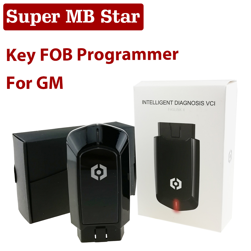 New Arrival Car Key FOB Programmer For GM Keyless Entry Remote Transponder Key Fob Auto Programming Tool OBD2 Scanner Diagnosis