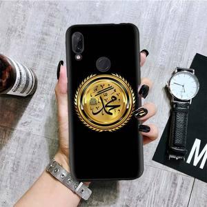 Image 3 - Arabo Musulmano Islamico Nero Del Modello Della Copertura Della Cassa Del Telefono per Xiaomi Redmi Nota 8T 10 9S 8 7 8A 7A 6A Mi 10 9 8 CC9 K20 Pro Lite Coque
