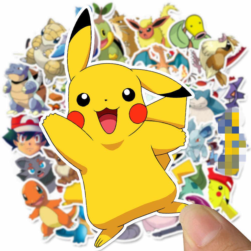 Bộ 50 Nhật Bản Hoạt Hình Anime Pikachu Dán Ngộ Nghĩnh Trò Chơi Tự Làm Tường Cho Laptop Hành Lý Điện Thoại Kiểu Dáng Xe Trang Trí Nhà Đồ Chơi miếng Dán Kính Cường Lực