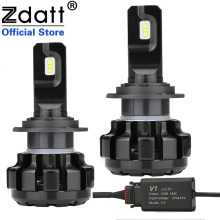 Zdatt H7 LED Canbus Lampadas H1 H4 H8 H9 H11 Car Headlight Bulbs Ice Lamps 6000K 100W 12000LM 12V Automobiles Foglights