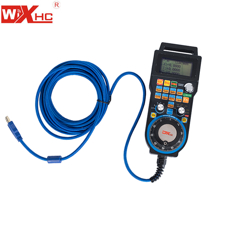 USB HB04 Wire Hand Wheel CNC 4Axis Pulse Generator MPG Pendant For Mach 3 Router