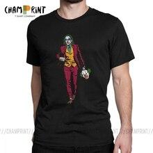 Мистер Флек джокер футболка мужская отряд самоубийц Забавный Клоун крутые хлопковые футболки Классический готический злодей футболка 4XL 5XL 6XL Топы