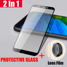 HD Camera Screen Protector Tempered Glass For Xiaomi Redmi 5 Back Clear Lens Film Ptotective