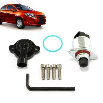 Zestaw T3ED 1 zestaw czujnik położenia przepustnicy nowy zestaw akcesoriów samochodowych czujnik położenia przepustnicy z zestawem kontroli biegu jałowego tanie i dobre opinie CN (pochodzenie)