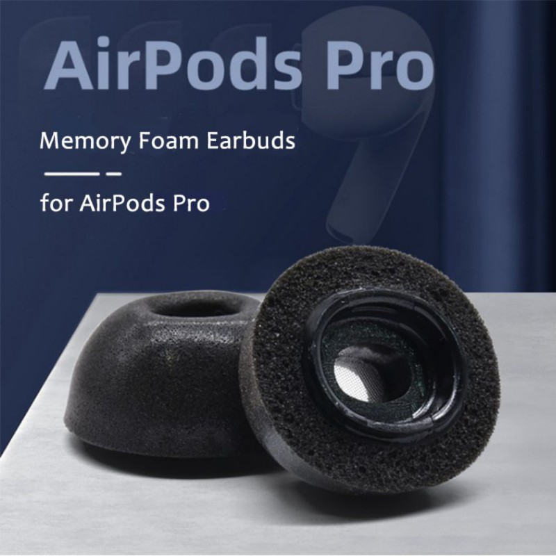 Memory Foam Replacement <font><b>Ear</b></font> <font><b>Tips</b></font> Earbuds Compatible For <font><b>Airpods</b></font> Pro Headphones Slow Rebound image