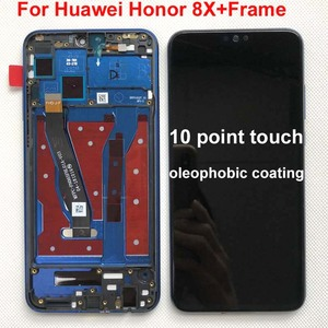 Image 5 - Original Display For 6.5 Huawei Honor 8X JSN AL00 JSN L22 JSN L21 Full LCD DIsplay +Touch Screen Digitizer Assembly With Frame