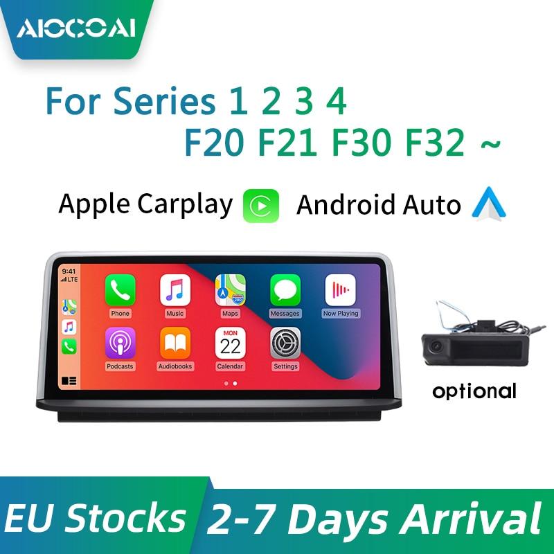 Беспроводной CarPlay и Android авто для BMW серии 1 2 3 4 F20 F21 F22 F30 F31 F34 F32 F33 F36 F80 экран дисплея