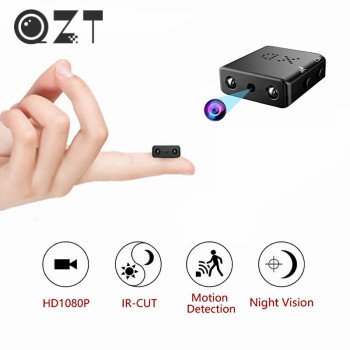 QZT Smallest Mini Camera Wireless Infrared Night Vision Secret Camera Micro Car Camera Recorder Small Mini Cam Camcorders 1080P
