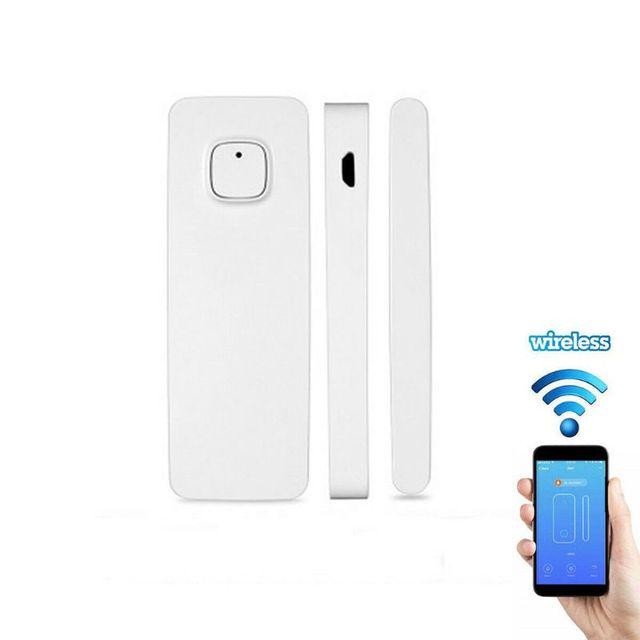 1 סט WiFi דלת חלון חיישן חכם מעורר חיישן אין רכזת הנדרש נטענת עבור IFTTT/Alexa/Google בית מערכת