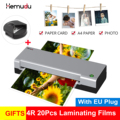 A4 Heißer Laminator laminieren Maschine für A4 Dokument Foto Blister Verpackung Kunststoff Film Roll-Laminator