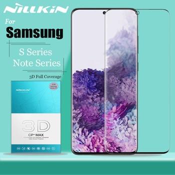 Nillkin 3D Volledige Dekking Gehard Glas Voor Samsung Galaxy Note 10 9 8 S20 S10 S9 Plus S10E S20 Ultra 5G Glas Screen Protector