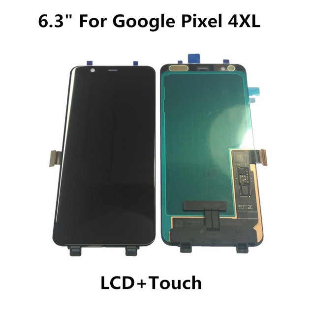 """기존 5.7 """"Google Pixel 4 LCD 디스플레이 터치 스크린 디지타이저 어셈블리 6.3"""" Google Pixel 4XL LCD 디스플레이 수리 부품"""