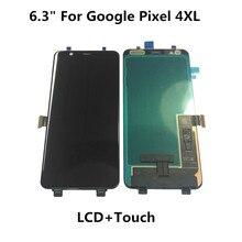 """Оригинальный 5,7 """"для Google Pixel 4 ЖК дисплей кодирующий преобразователь сенсорного экрана в сборе 6,3"""" для Google Pixel 4XL ЖК дисплей запасные части"""