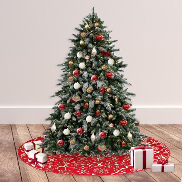 Tree Skirts Creative Christmas Decoration New Year Home Outdoor Decor Event Party Tree Skirts For New Year Carpet Decorations 3