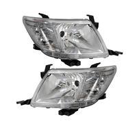 1 pair OEM Headlight For Toyota Hilux Pickup VIGO Head light lamp DRL 2012 2013 2014 2015