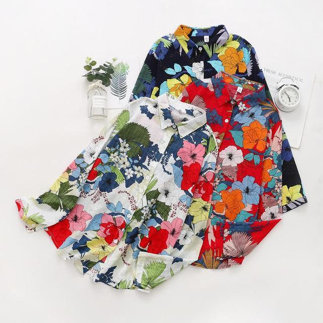 Flower shirts Hawaii shirts 1