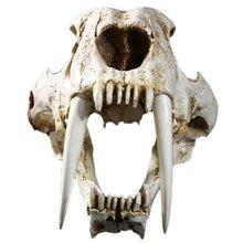 Размер 1:1 американские старые животные саблеобразный зуб кот