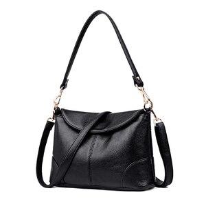 Image 2 - كيس الرئيسي حقيبة يد فاخرة جلدية صغيرة حقائب النساء مصمم السيدات الكتف Crossbody حقائب اليد للنساء 2020 بولسا الأنثوية