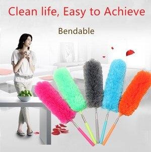 Щетка-пылеочиститель из мягкой микрофибры, Антистатическая щетка для очистки дома, кондиционера, автомобильной мебели