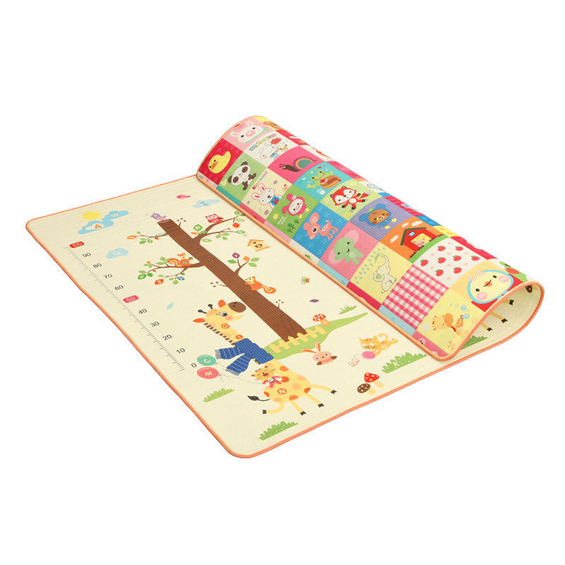 Infant Shining Baby Play Mat Thickening Eco friendly Children Playmat EPE 200 180 1 5CM Cartoon Infant Shining Baby Play Mat Thickening Eco-friendly Children Playmat EPE 200*180*1.5CM Cartoon Non-slip Carpet Living Room Mat