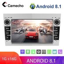 Camecho 2Din Android 8.1 Multimedia Player For Astra Antara Vectra Corsa Zafira Meriva vivara Vivaro Combo Signum Tigra Twin Top