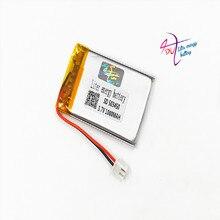 JST XH 2.54mm 503450 523450 3.7V 1000MAH Lithium Polymer LiPo Oplaadbare Batterij Voor Mp3 hoofdtelefoon PAD DVD bluetooth camera