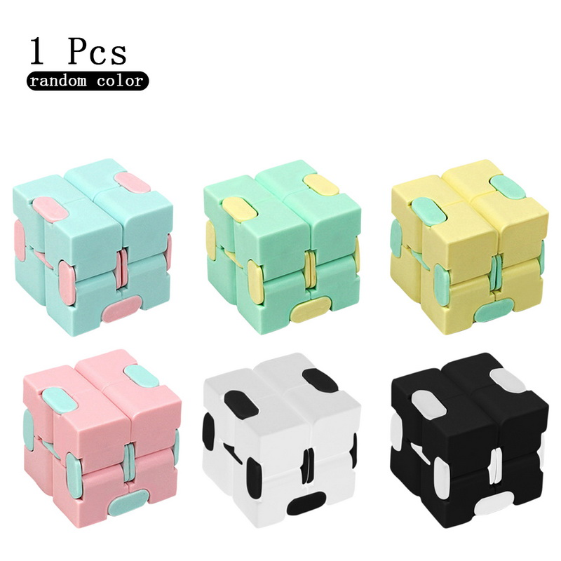 Toy Infinity-Cube Stress Finger EDC Relief-Cube-Blocks Anxiety Ul for Adult Kids Funny img5