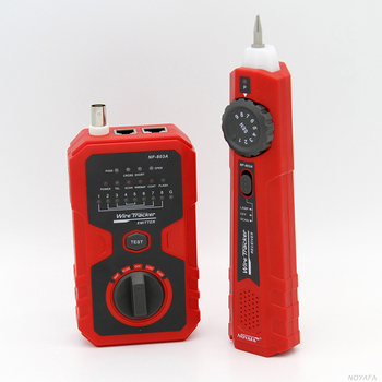 2 Tones Adjustable Cable Continuity Tester Wire Tracker with Rotary Switch